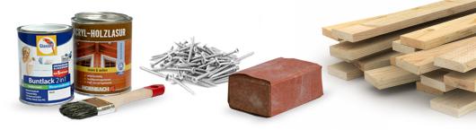 Wickeltischaufsatz für Ikea Kommode selberbauen – Material