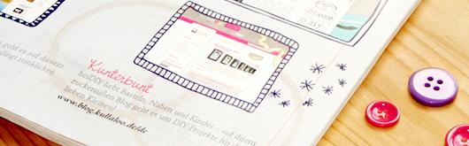 "kullaloo im DIY Magazin ""Fantastische Kreativ-Ideen"" - Artikelbild"