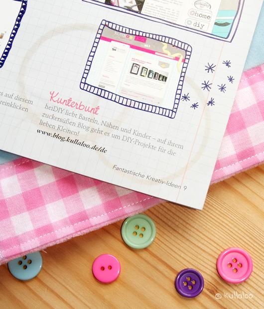 "kullaloo im DIY Magazin ""Fantastische Kreativ-Ideen"" - Blogvorstellung von kullaloo"