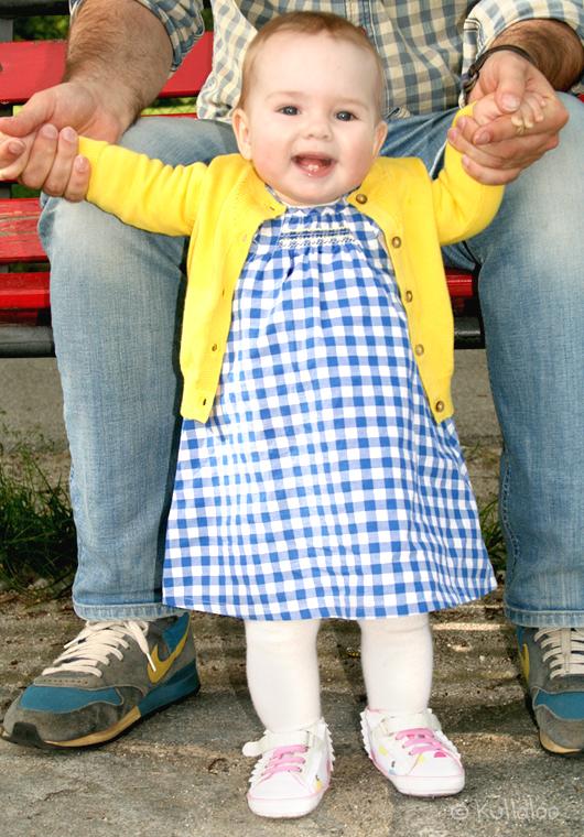 Meine neue Lieblingsfarbkombi - Kleid mit Jäckchen