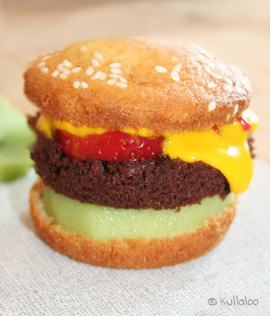 Kinder Muffins: Rezept für Hamburger Muffins - Fertiger Muffin