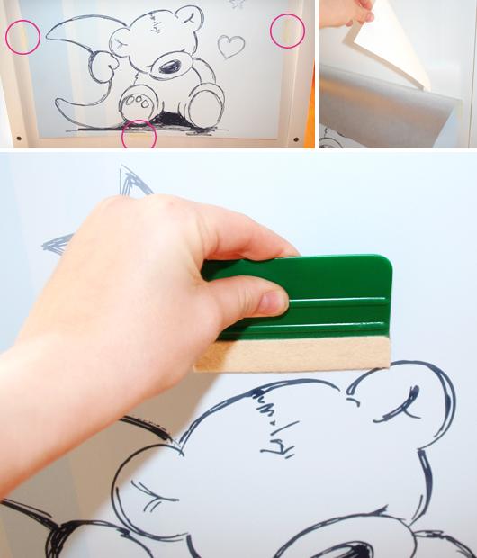 Stikkipix: IKEA-Möbel mit Folien verschönern - Schritte