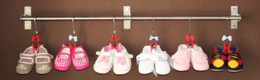 Aufhängung für Babyschuhe - Artikelbild
