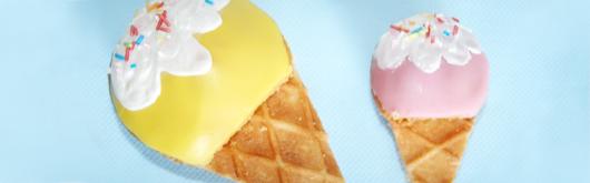Kinder Muffins mit Eiswaffel - Artikelbild