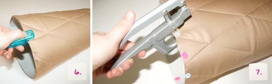 Schultüte selber machen: Eistüten-Look - Schritt 6-7