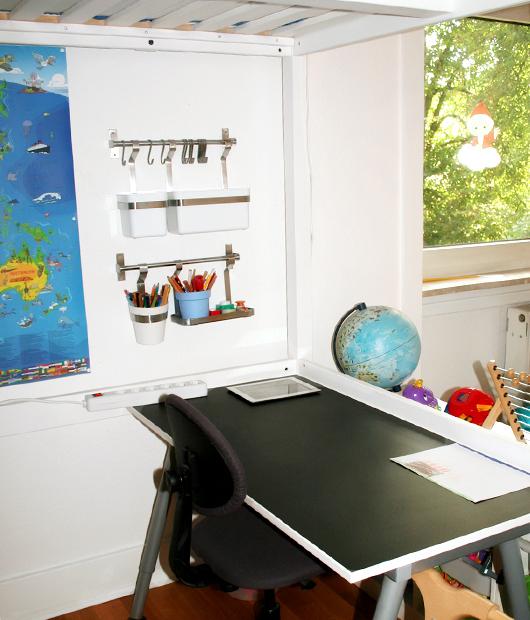 Jungs-Mädchen-Kinderzimmer: So sieht's inzwischen aus - Schreibtisch