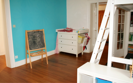 Jungs-Mädchen-Kinderzimmer: So sieht's inzwischen aus - Wickelkommode