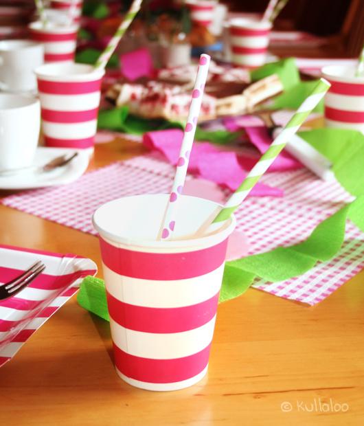 Erster Geburtstag - Tischdeko