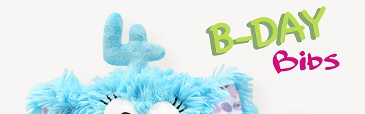 Geschenke selber nähen: Die B-DAY Bibs von kullaloo