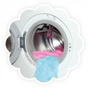 Polyester Stoff waschen