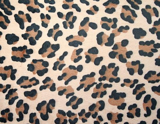 Plüsch kaufen: 3mm Leopardenplüsch