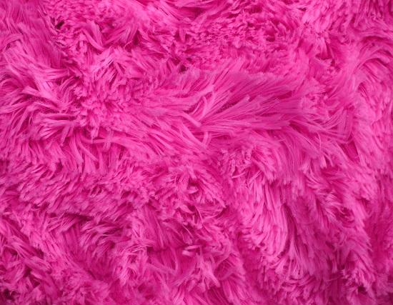 Plüsch kaufen: Zottelplüsch in pink