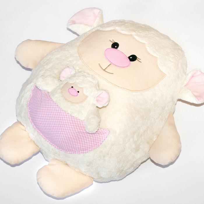 Ein Lamm zu Ostern nähen: Schafe Lari und Larinchen | kullaloo