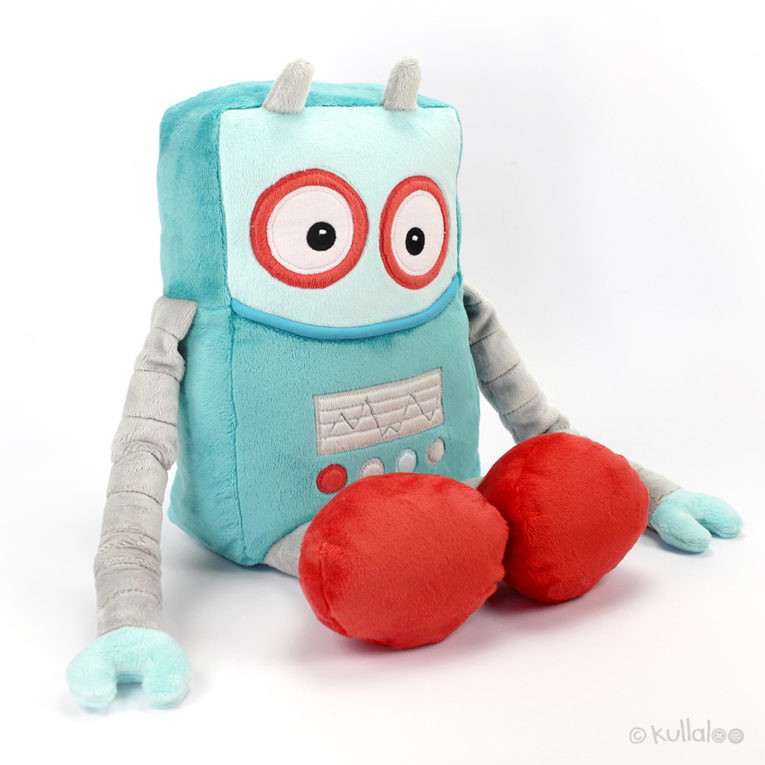 Kuscheltier Roboter Nähanleitung