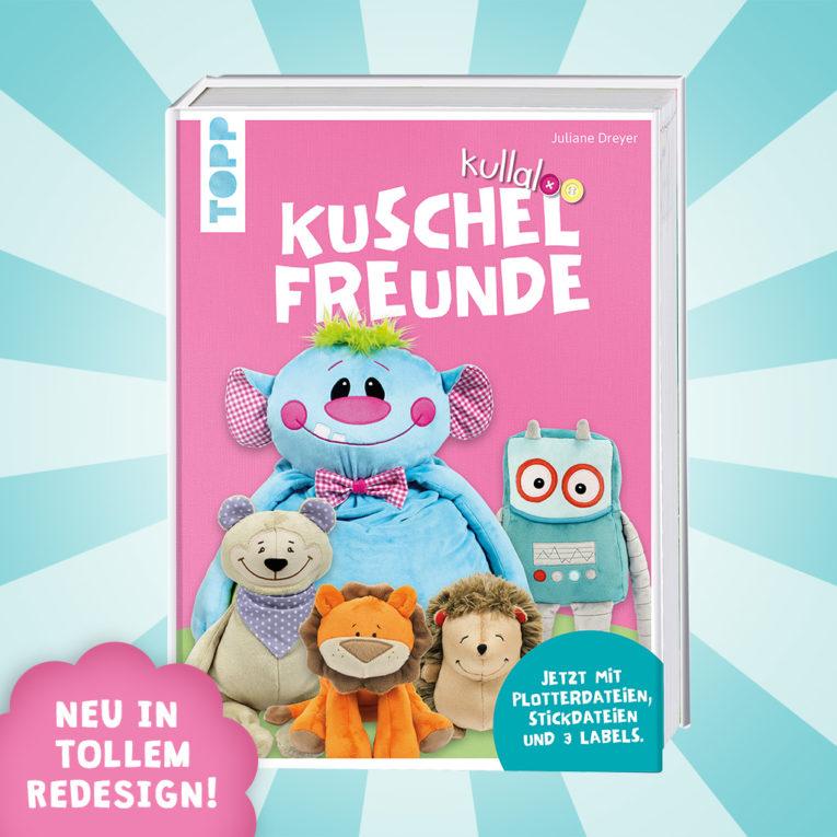 """Nähbuch Kuscheltiere: kullaloo """"Kuschelfreunde"""""""
