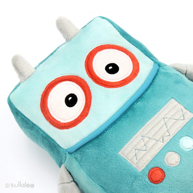 Nähen für Kinder Roboter