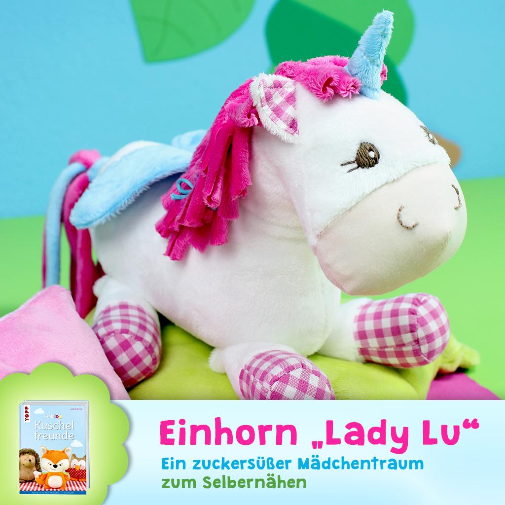 "Schnittmuster Einhorn ""Lady Lu"""