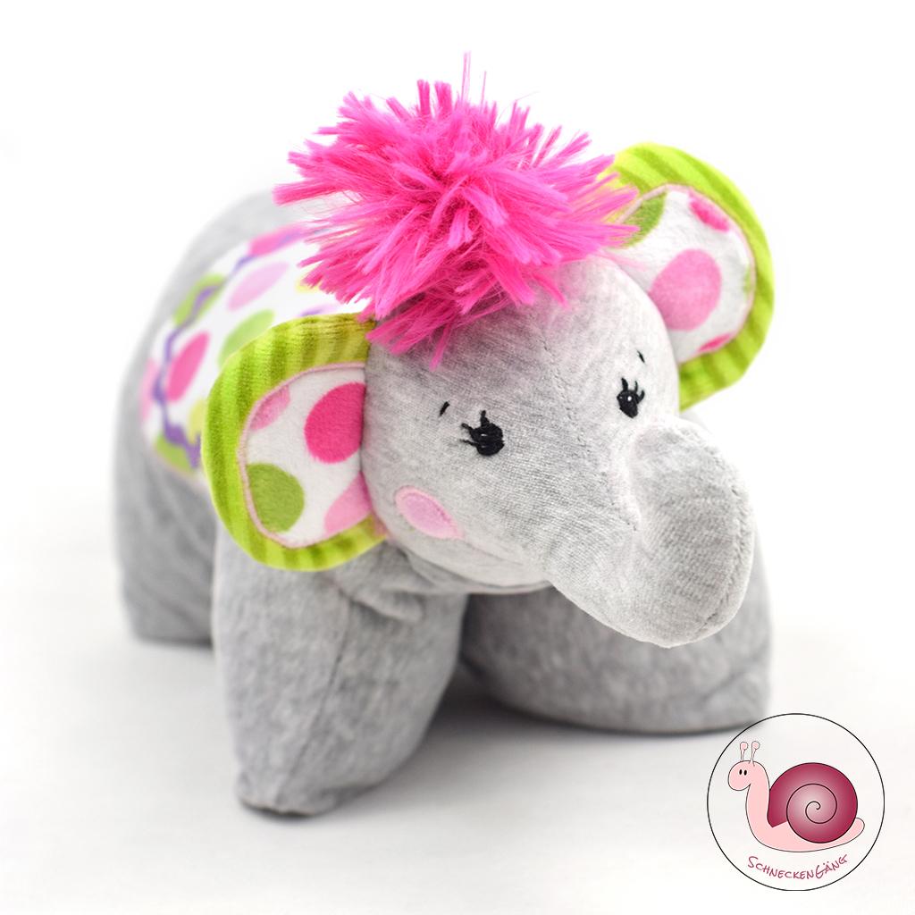 Schnittmuster Elefant Kissen \