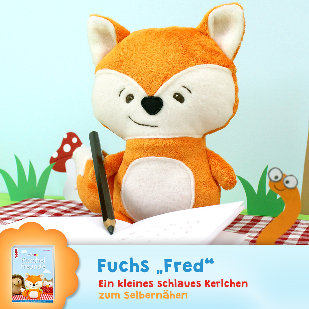 "Schnittmuster Fuchs ""Fred"""