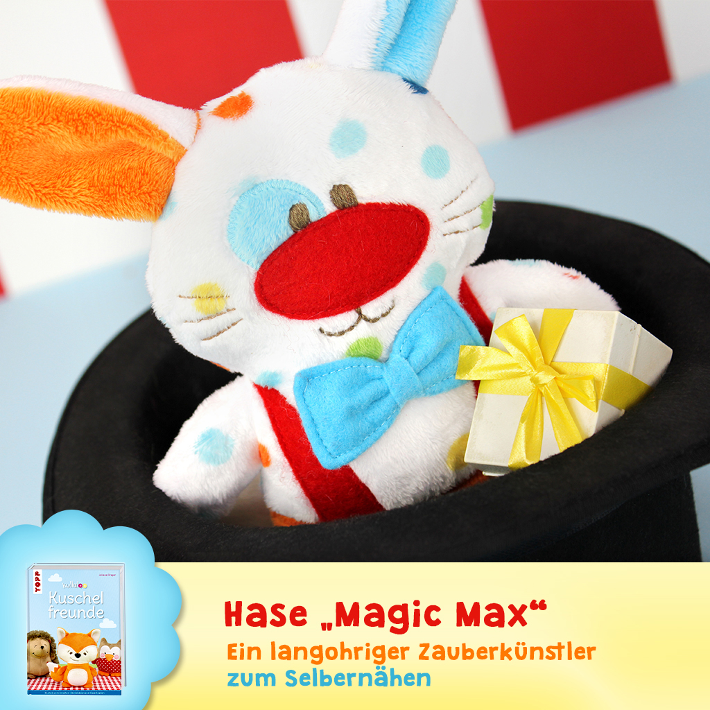 "Schnittmuster Hase ""Magic Max"""