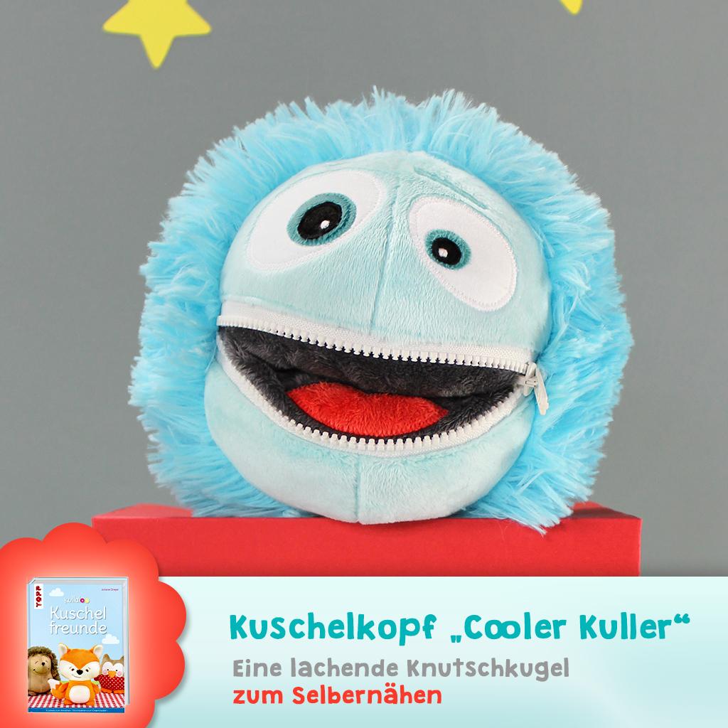 "Schnittmuster Kuschelkopf ""Cooler Kuller"""