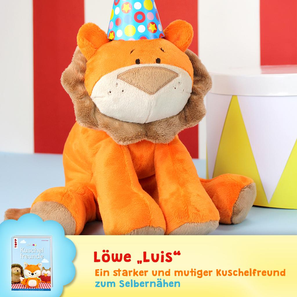"""Schnittmuster Löwe """"Luis"""""""
