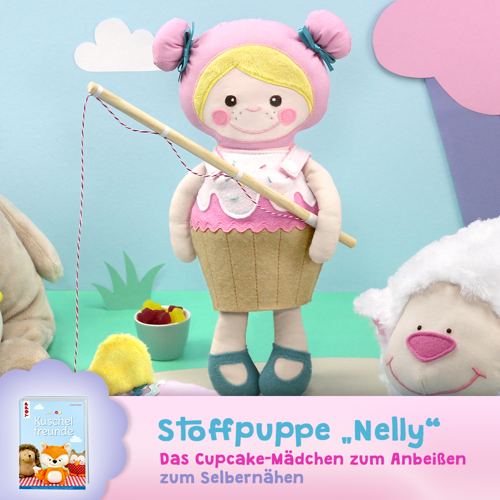 "Schnittmuster Puppe ""Nelly"""
