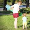 Spielmatte Baby portabel: einfach Rollen & Mitnehmen