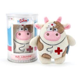 Kuscheltier Kuh Laurella - Trost bei Krankheit