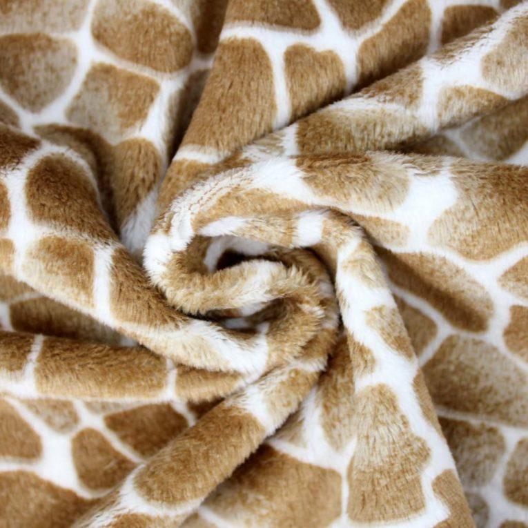 Plüsch Giraffen Print