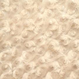 Rosenplüsch beige