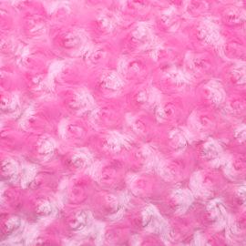 Rosenplüsch rosa pink