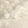 Microfaserplüsch Rosenstruktur Minky Polyester wollweiß