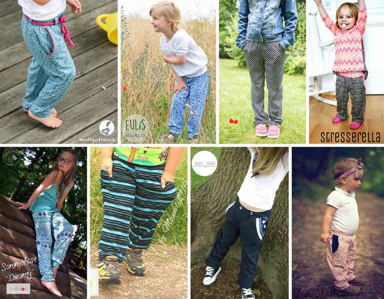 Schnittmuster Sommerhose DREAMY für Kinder und Damen