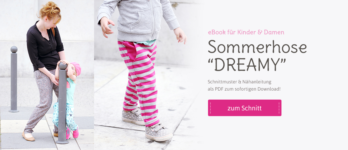 Sommerhose DREAMY für Damen & Kinder