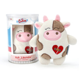 Stofftier Kuh Laurelie - Trost bei Herzschmerz