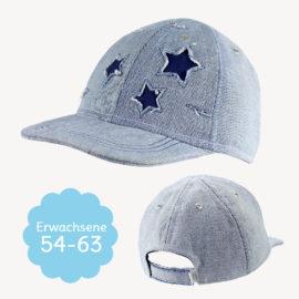 "Schnittmuster Baseball Cap ""HAPPY"" für Erwachsene"