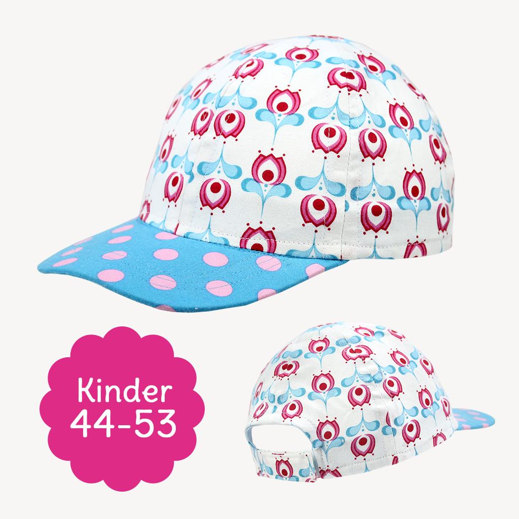 """Schnittmuster Basecap """"HAPPY"""" für Kinder"""