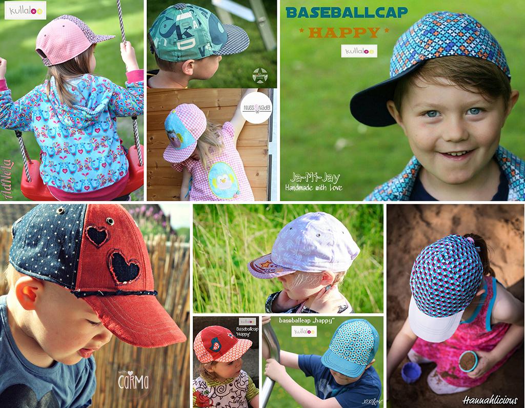 Schnittmuster Baseballkappe Kinder & Erwachsene | kullaloo