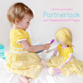 "Schnittmuster Kleid Kind & Puppe ""Sunny"" Partnerlook"