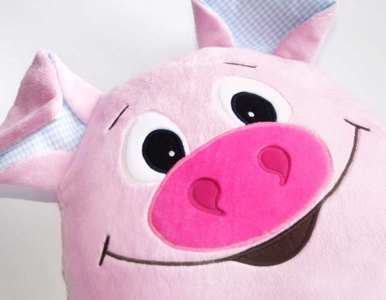 """Schnittmuster Kuscheltier Schwein """"Landolin"""""""