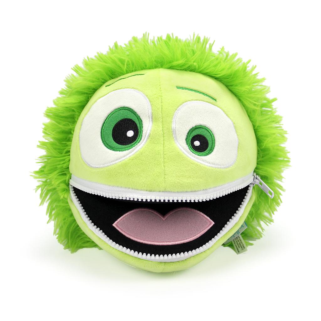 Cooler Kuller Kuscheltier grün 20cm