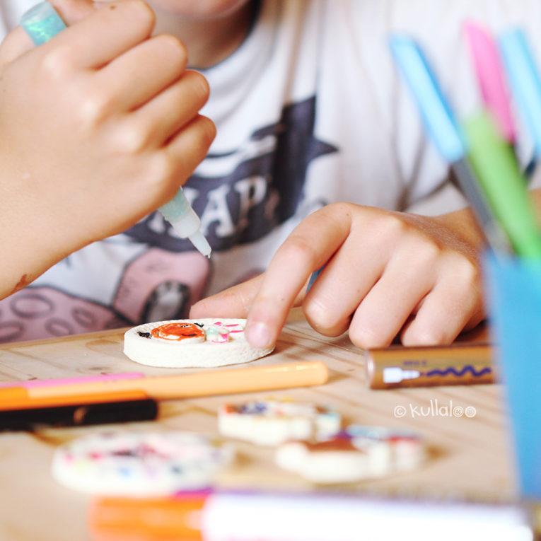 Bastelideen für Kinder Schlüsselanhänger