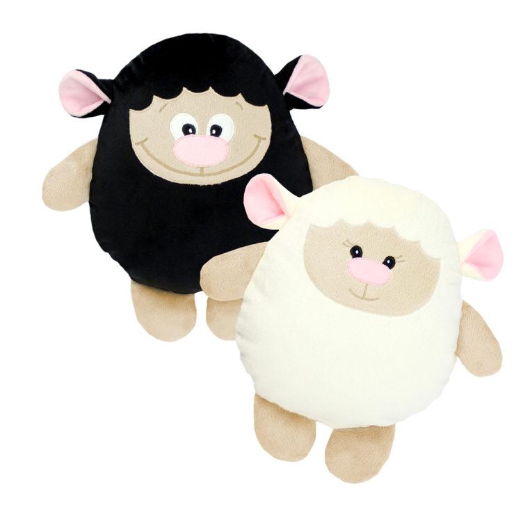 """Doppel-Nähset Kuscheltier Schaf """"Lari"""" in weiß und schwarz - Kuscheltiere"""