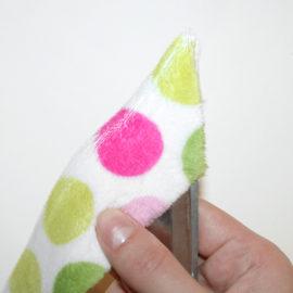 Patchworkdecke Nähanleitung: Rag Puff Quilt nähen - Schritt 2e