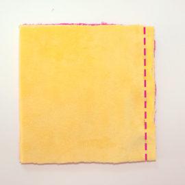 Patchworkdecke nähen: Rag Puff Quilt Nähanleitung - Schritt 3b