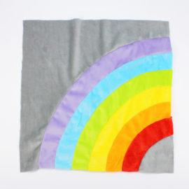 Kostenloses Schnittmuster Regenbogenkissen - Schritt 2b
