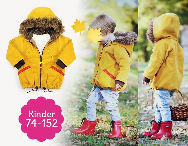 Schnittmuster Raglan-Jacke COZY für Kinder | kullaloo