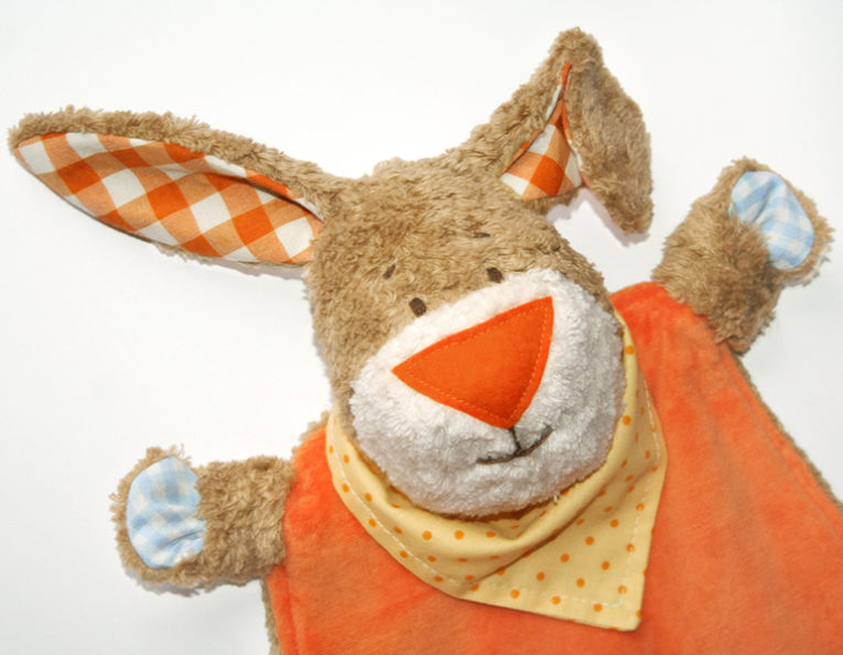 "Schnittmuster Schnuffeltuch Hase ""Kulio"""