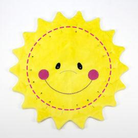 Kostenloses Schnittmuster Sonne - Schritt 4c